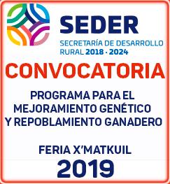 convocatoria Mejoramiento Genético Ixmatkuil 2019
