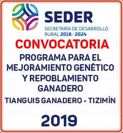 convocatoria Mejoramiento genetico tizimin 2019