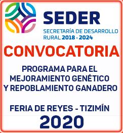 convocatoria Mejoramiento genético tizimin 2020