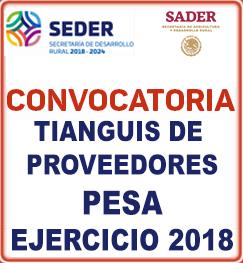 tianguis proveedores pesa ejercicio2018